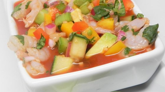 Light and Fresh Mexican Gazpacho
