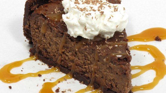 Photo of Baked Chocolate Caramel Cheesecake by millegrazie