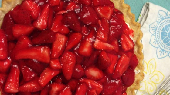 Photo of Strawberry Cream Pie To Die For by paniece