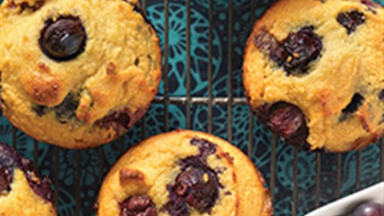 Photo of Gluten-Free Blueberry Muffins made with Coconut Flour by King Arthur Flour