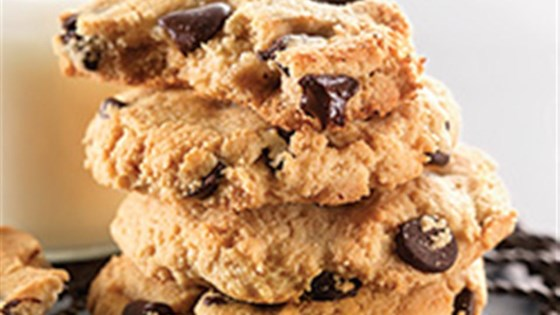 Photo of Gluten-Free Almond Flour Chocolate Chip Cookies by King Arthur Flour