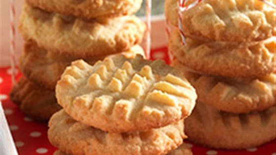 Photo of Gluten-Free Coconut Flour Shortbread Cookies by King Arthur Flour