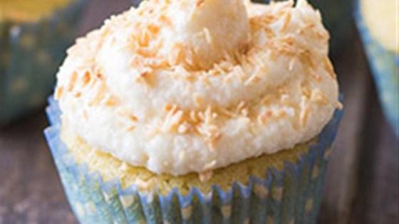 Photo of Vanilla Coconut Flour Cupcakes by King Arthur Flour