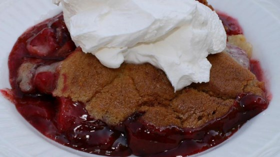 Photo of Rhubarb and Strawberry Cobbler by IROC