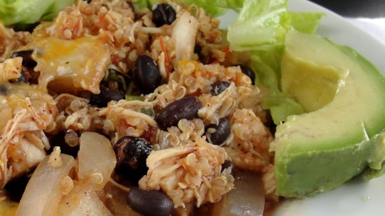 Photo of Mexi-Quinoa Chicken Casserole by Brianne Coones