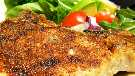 pork rub rubbed and baked pork chops review by frank