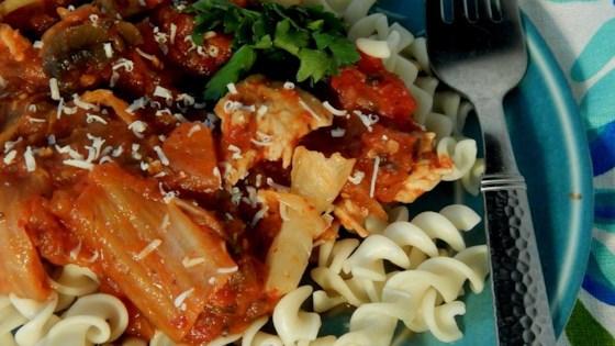 Photo of Spicy Kimchi Chicken Rotini by jennydotdot