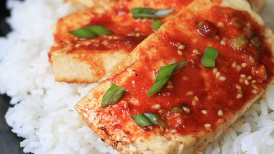 Photo of Baked Tofu Slices by aLLASMN