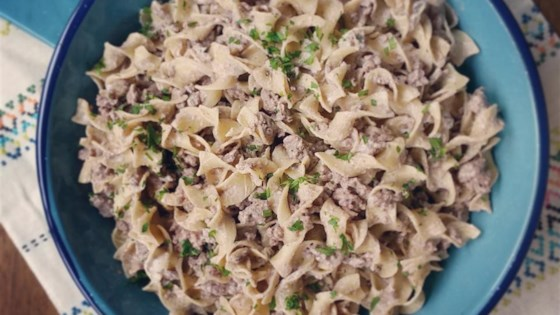 Photo of Simple Beef Stroganoff by Brenda