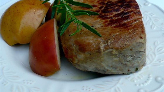 Photo of Boneless Pork Chops and Apples by cookie cruncher
