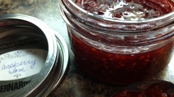 Raspberry Jam without Pectin
