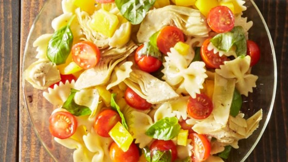 Photo of Tomato Basil Pasta Salad by Reynolds Kitchens®