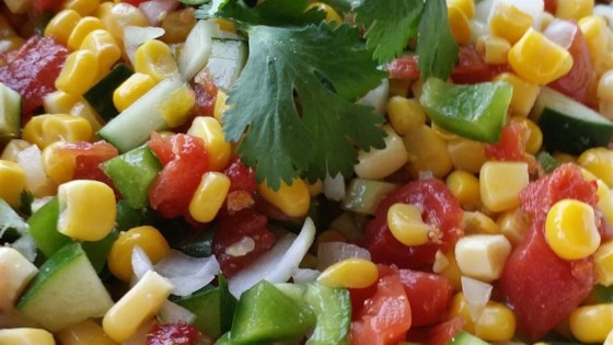 Photo of Easy Corn Salad - Great Side for BBQs by experimentalcook