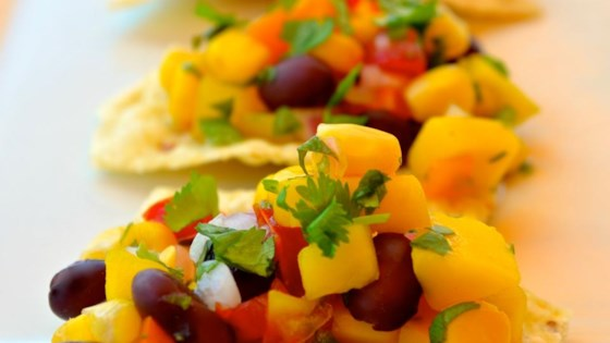Photo of Black Bean Mango Salsa by Roxy Mom