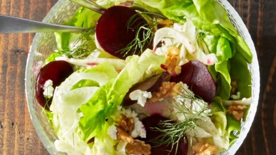 Photo of Roasted Beet, Goat Cheese and Fennel Salad by Reynolds Kitchens®