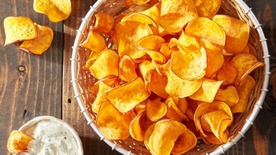 Photo of Baked Homemade Sweet Potato Chips by Reynolds Kitchens®