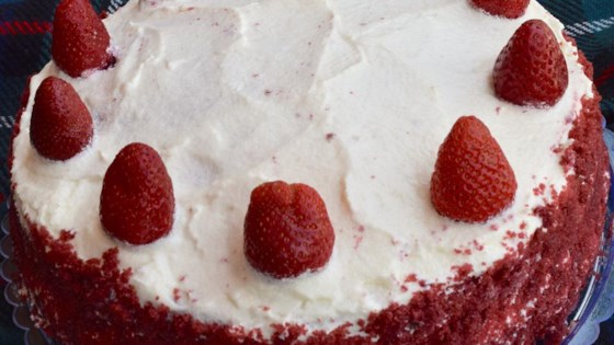 Photo of Red Velvet Strawberry Cake by Tahoura Hashemi