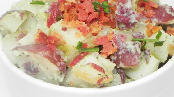 Photo of Caramelized Onion and Bacon Potato Salad by Ellen Violet-Muir