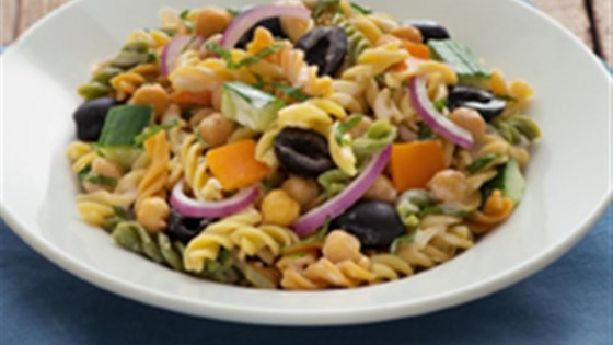 Photo of Catelli Bistro Chickpea and Mint Fusilli Salad by Catelli Bistro®