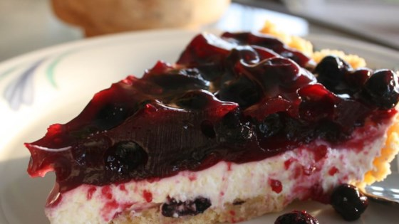 Photo of Cream Cheese Blueberry Pie by Lisieux Bauman