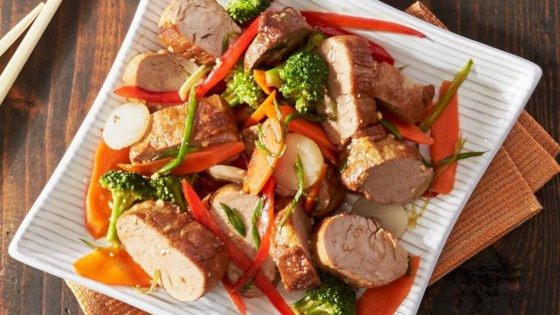 Photo of Asian Pork Tenderloin Packets by Reynolds Kitchens®