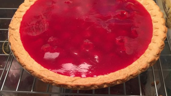 Photo of Maggie's Fresh Raspberry Pie by Robin C
