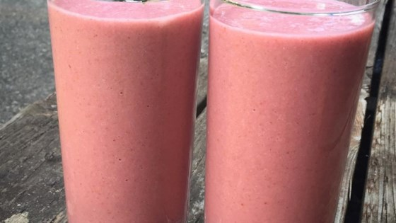 Photo of Coconut Raspberry Smoothie by Alli Shircliff