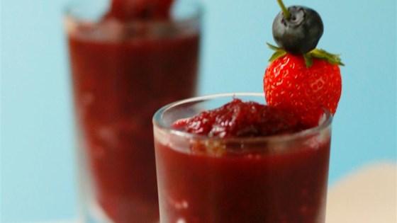 Photo of Berrylicious Frozen Sangria Slush by foodelicious