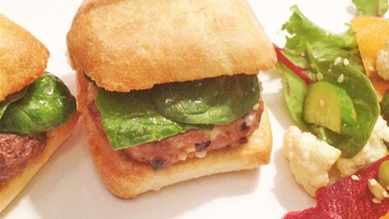 Photo of Feta and Olive Lamburgers by K