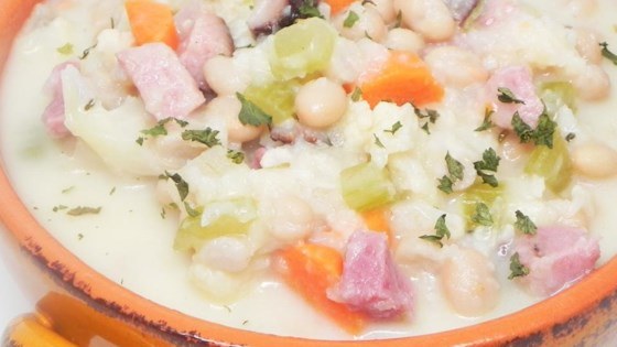Photo of Creamy Ham and Bean Soup (Gluten Free) by mlgarf