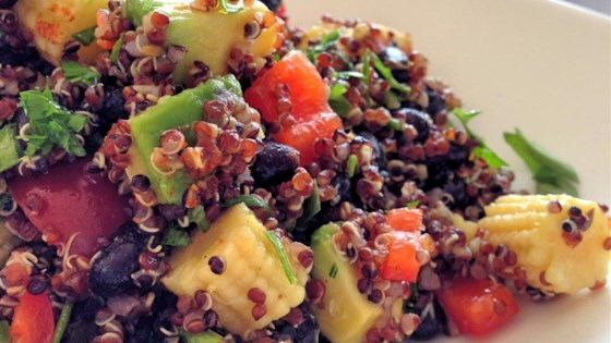 Photo of Mexican Quinoa Salad by The Lazy Gourmet
