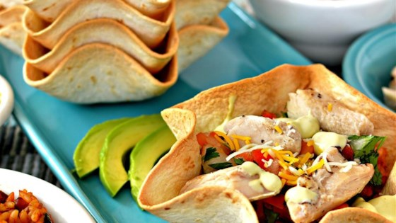 Chicken Taco Bowls with Pinto Beans and Rice