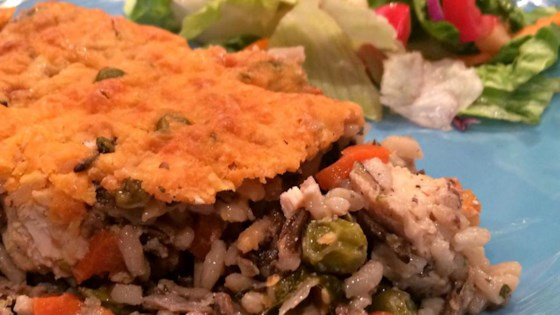 Photo of Super Veggie Chicken and Wild Rice Casserole by Staci
