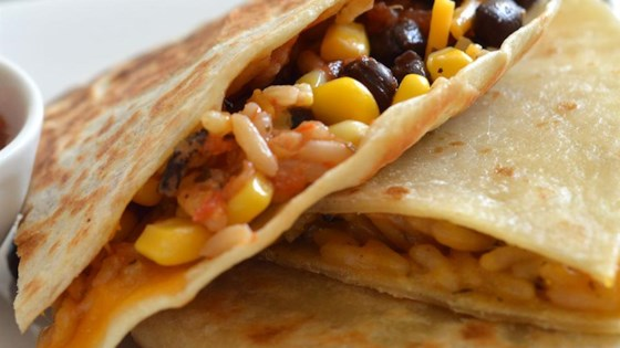 Photo of Wild Rice, Corn, and Black Bean Quesadillas by Uncle Ben's
