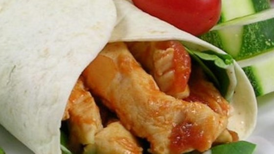 Photo of Simple Sweet and Spicy Chicken Wraps by Nuclear Rich