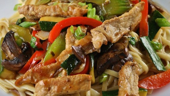 Photo of Stir-Fried Vegetables with Chicken or Pork by Nishana Lee