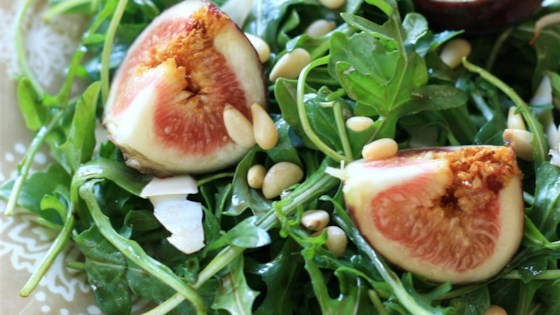 Photo of Fig and Arugula Salad by Serena123