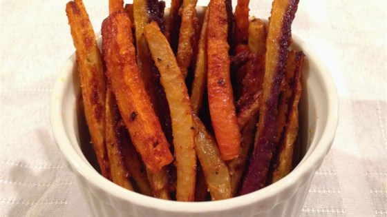 Photo of Cajun Rainbow Carrot Fries by giannabowen