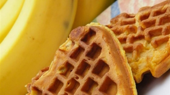 Photo of Whole Wheat Banana Waffles by Melanie Pino