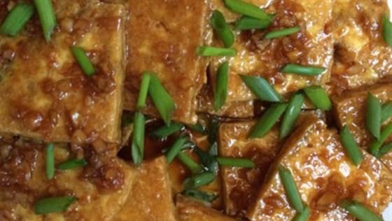 Maple-Lemon Tofu
