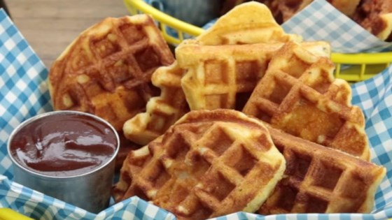 Photo of Chicken in a Waffle by Snacking in the Kitchen