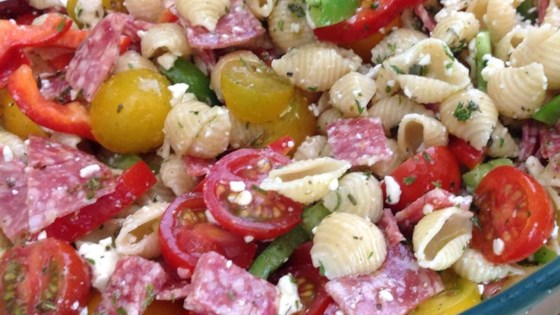 Photo of Antipasto Pasta Salad by Dayna