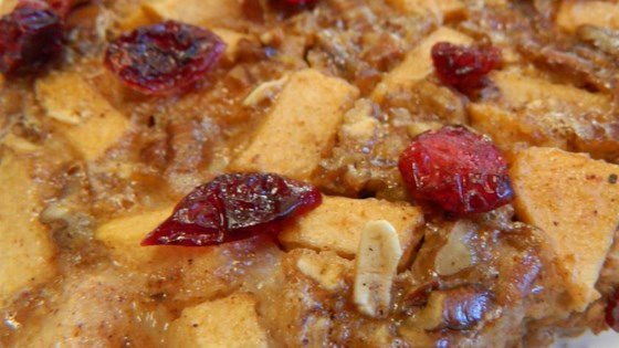 Photo of Baked Cranberry Oatmeal by SHANTILLIE
