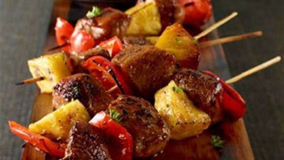 Photo of Sweet and Spicy Pork Mini Kabobs by Smithfield®