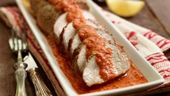 Photo of Pork Tenderloin with Low Fat Romesco Sauce by Smithfield®