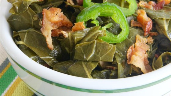 Photo of Slow Cooked Collard Greens by 3D's Mom