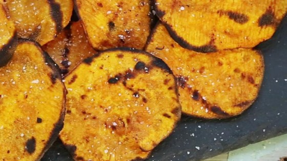 Photo of Grilled Spicy Sweet Potato Chips by ZoeyInTheMiddle