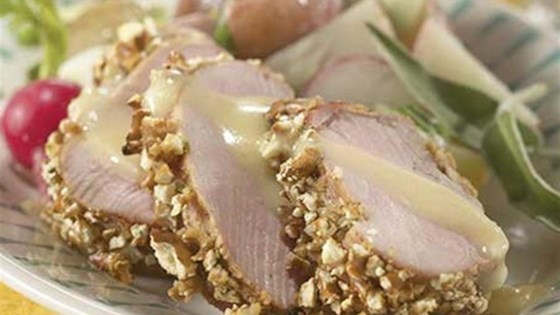 Photo of Honey-Kissed Pretzel Crusted Pork Loin by Smithfield®