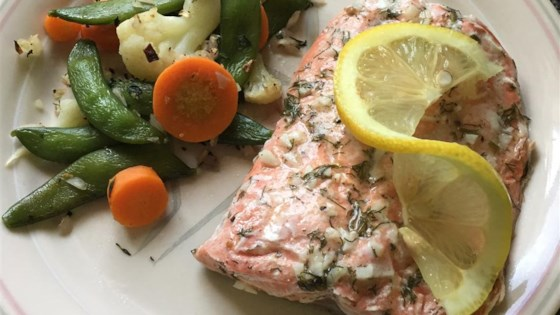 Photo of Salmon with Lemon and Dill by Michelle Ramey