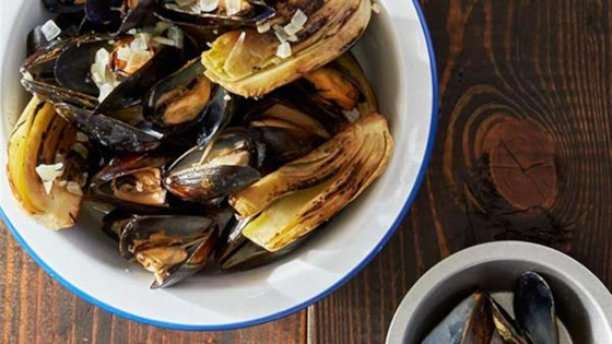 Photo of Grilled Mussels with Smoked Paprika Cream by Reynolds Kitchens®